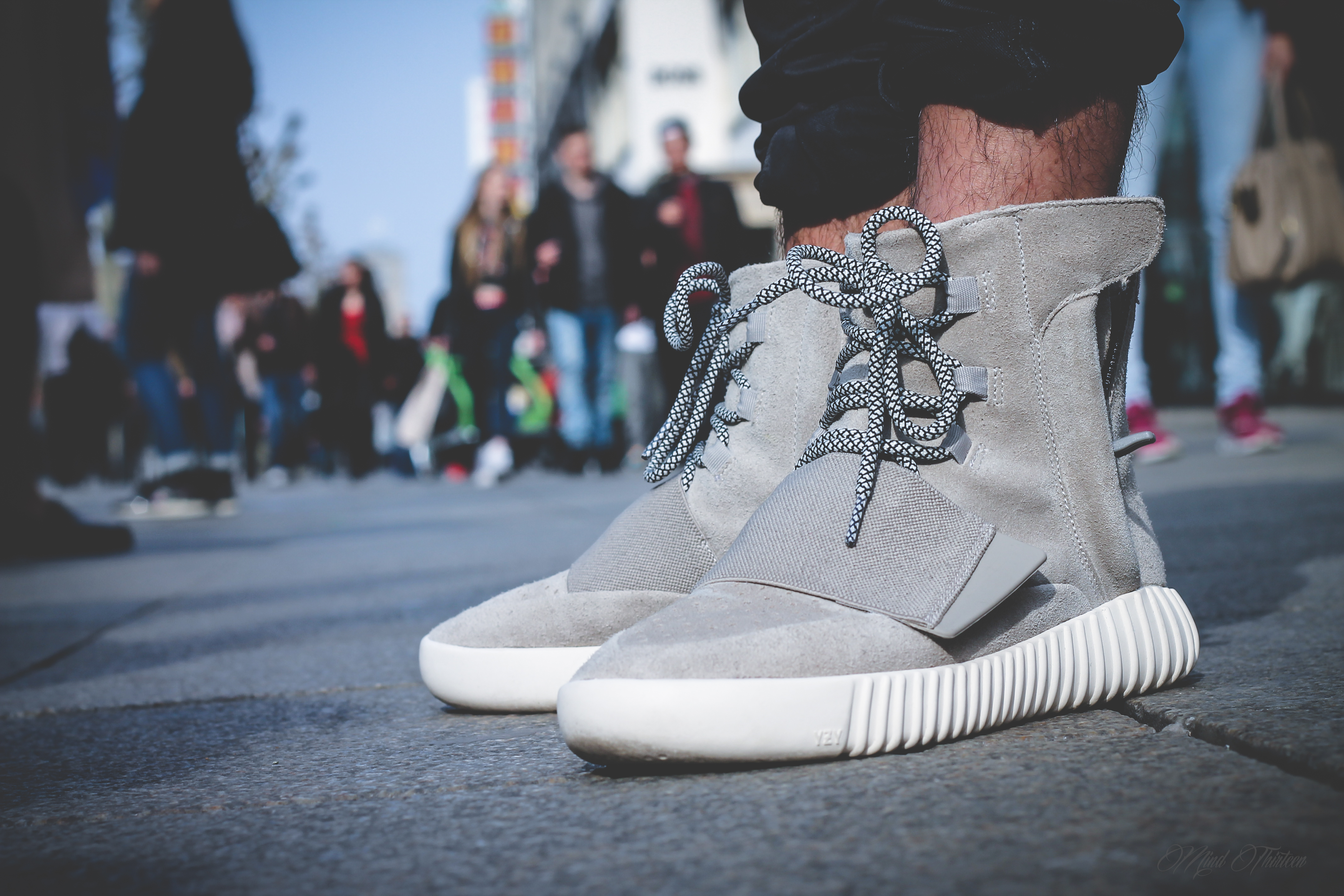 Adidas Yeezy 750 On Feet